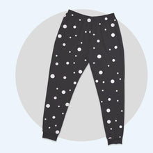 Personalized Basic Women's Pajama Pants Abstract Dot Shape Design Element