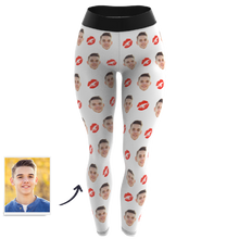 Custom Face Leggings - Kiss
