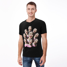 Personalized Photo Funny Man T-shirt