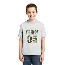 Custom Lucky Number Personalized Family Matching Shirt Polyester T-shirt Kids Shirts For Little Prince
