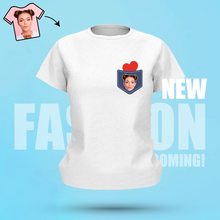 Personalized Face T-Shirt Personalized Shirt White Best Gift