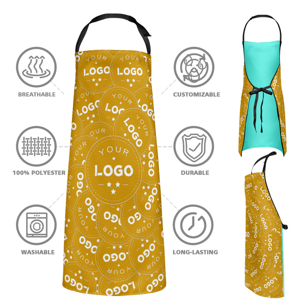 Custom Kitchen Apron With your Personalized Logo