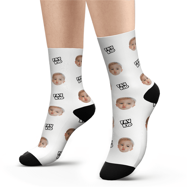 Custom Fav Kid Socks - Unisex