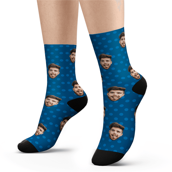 Custom Polka Dot Socks - Unisex