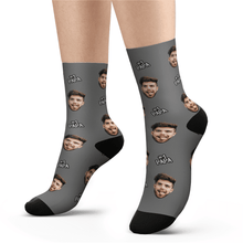 Custom #1 PAPA Socks - Unisex