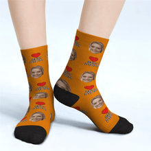 Custom Face Socks Best Mom Gifts For Mom - Unisex