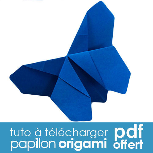 tuto diy gratuit origami papillon tout est diy. Black Bedroom Furniture Sets. Home Design Ideas