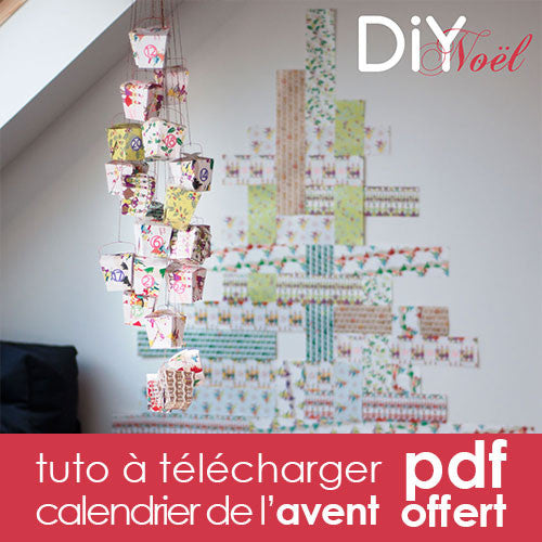 tuto calendrier de l 39 avent diy noel tout est diy. Black Bedroom Furniture Sets. Home Design Ideas