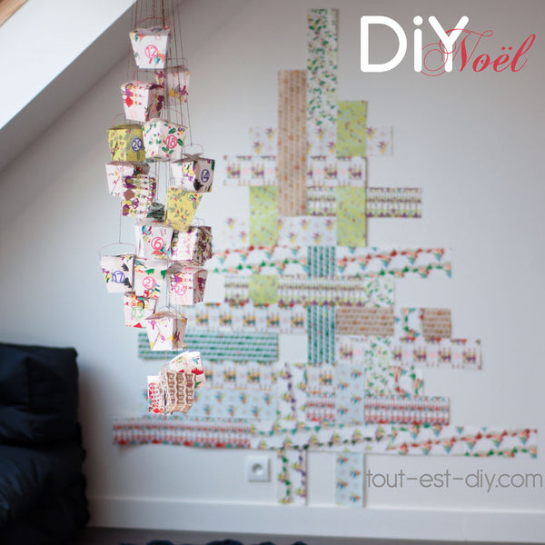 calendrier de l 39 avent diy tout est diy. Black Bedroom Furniture Sets. Home Design Ideas
