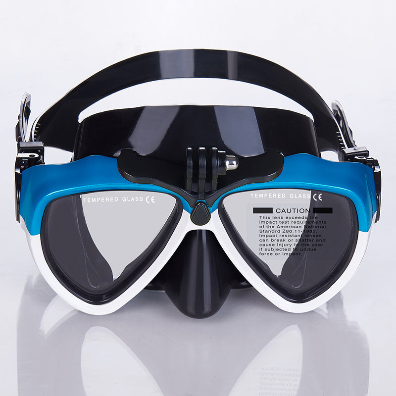 Adult Snorkel Set With GoPro Mount