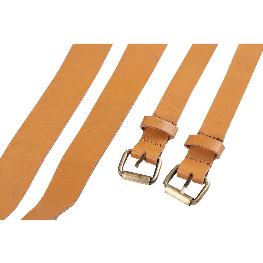 Leather replacement kit and leather straps for the safaristol chair in Tan Color