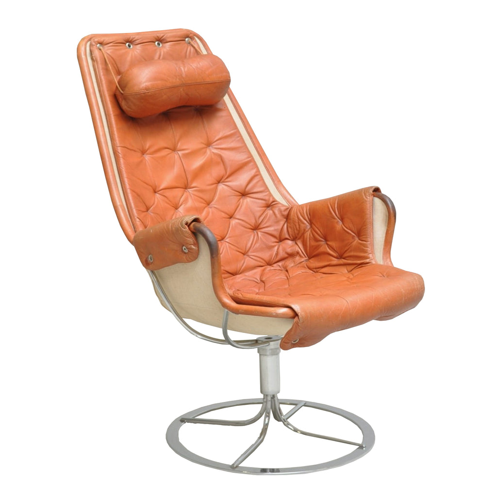 Bruno Mathsson Easy leather chair cover , Dux
