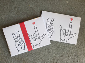 Peace and Love Cards