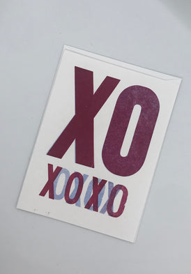 XXOO Valentines and Love Cards