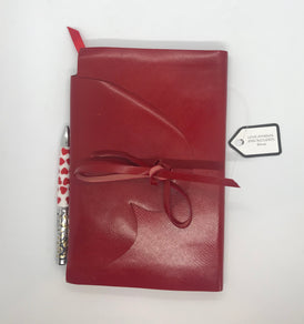 Handmade Leather Love Journal