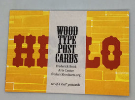 Wood Type Printed Postcards from Bowerbox Press