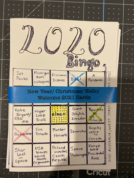 2020 Funny Bingo Greeting Cards (set of 5)