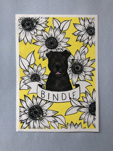 Floral Pet Portrait
