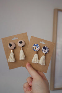 Australian Native Tassel Earrings