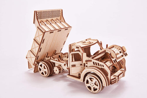 Wood Truck With Assembly