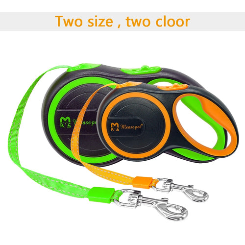 16ft Retractable Dog Leash Extending Reflective