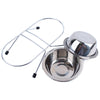 Raised Stainless Steel Pet Bowl Feeder