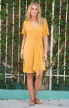 Orlanda Dress In Yellow