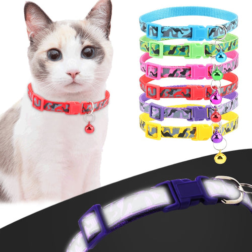 Adjustable Cat or Dog Reflective Collar