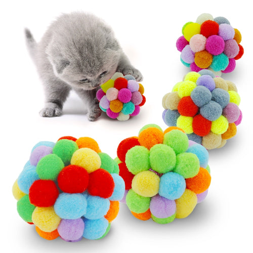 Interactive Cat Scratcher Ball Toy