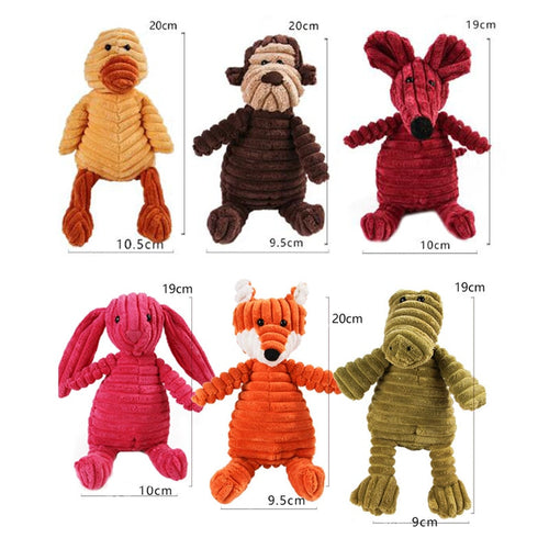 Dog Toys, Bite Resistant, Stuffed Animals