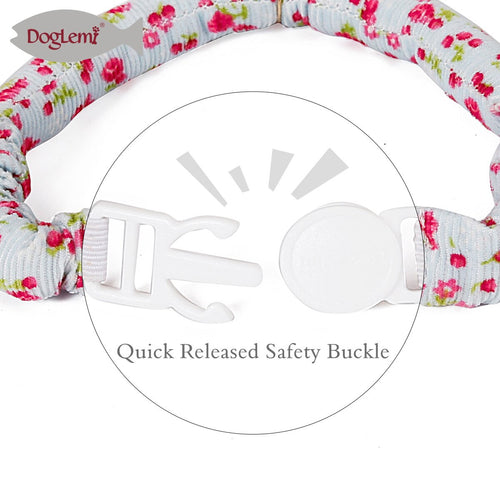 Pet Adjustable Collars With Bells