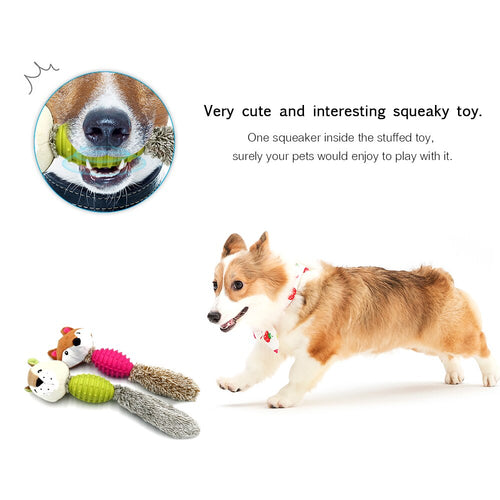Pet Plush Chew Toys
