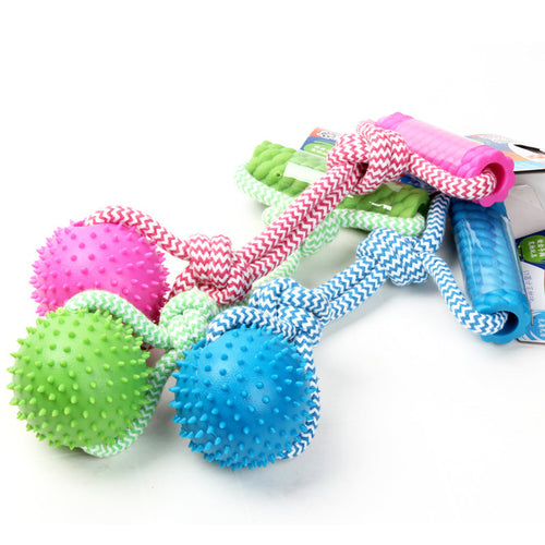 Rubber Chew Training Pet Toy
