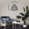 Triquetra - Metal Wall Art