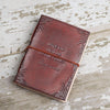 """We All Become Stories,"" Handmade Leather Journal"