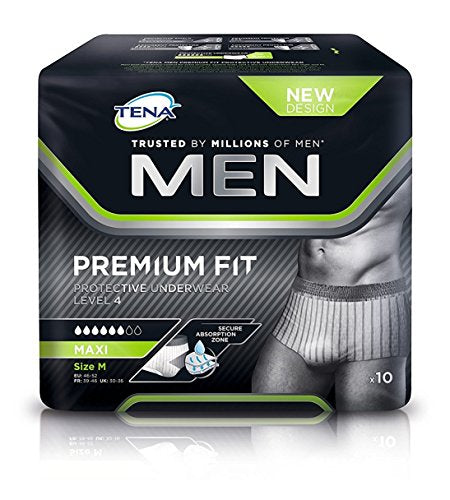 Tena Men Premium - Medium (Pack Of 10)
