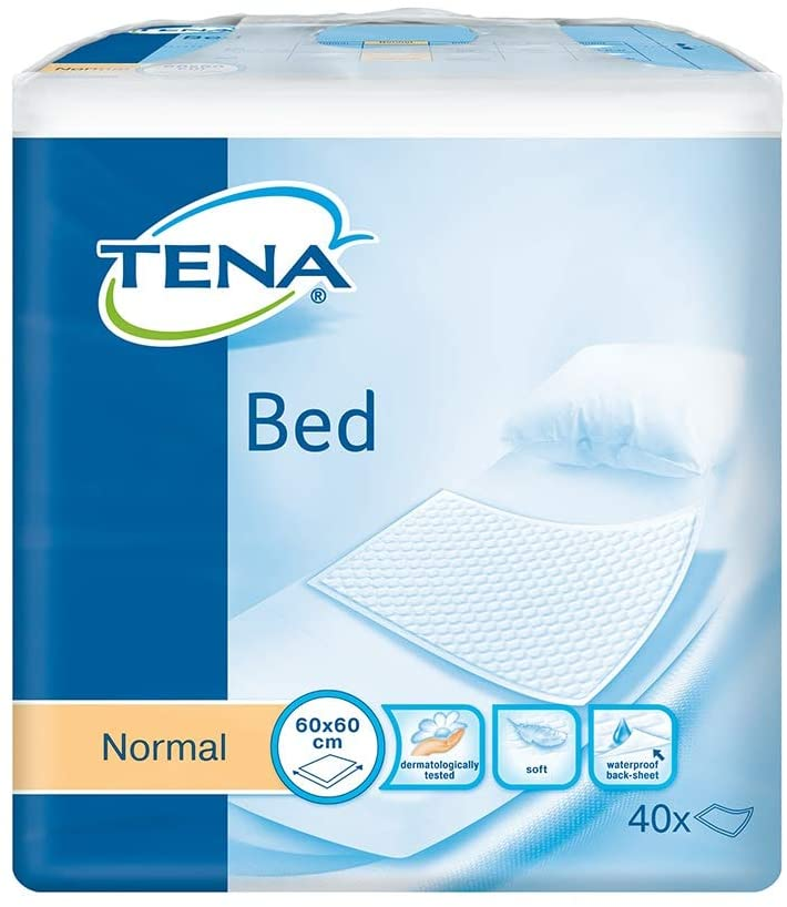 Tena Bed Normal 60 x 60 cm (4 Packs of 40)