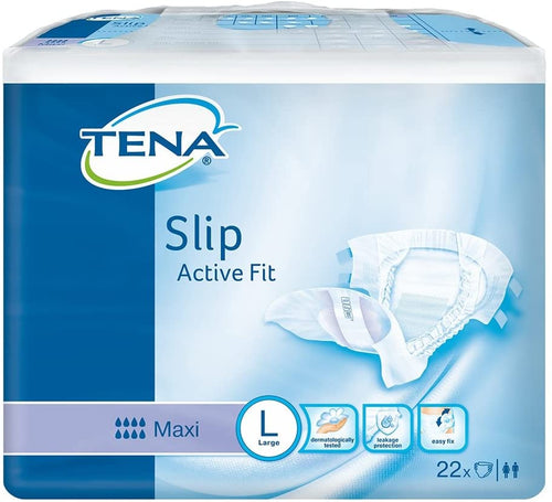 Tena Slip Active Fit Maxi Large (3 Packs of 22)