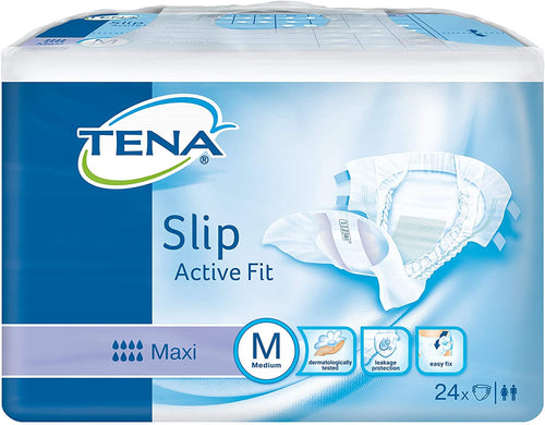 Tena Slip Active Fit Maxi Medium ( 3 Pack of 24)