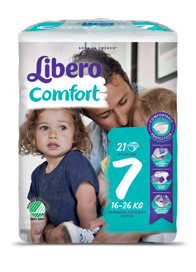 Libero Comfort 7 7 (8 Pack of 21)