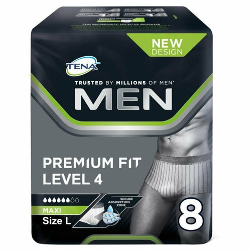 Tena Men Premium - Large (Pack Of 8)