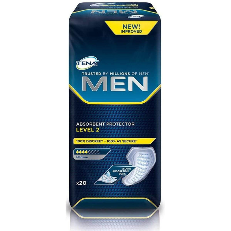 Tena Men Level 2 Incontinence Pad (Pack of 20)