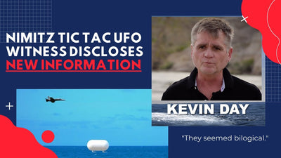 EXCLUSIVE INTERVIEW: Nimitz Tic Tac UFO Witness Kevin Day Discloses New Information
