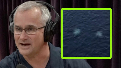 Cmdr. David Fravor Discusses Underwater UFO Sightings