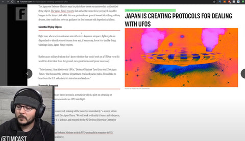 Japan Is PREPARING A UFO Response Protocol For When The Aliens Arrive