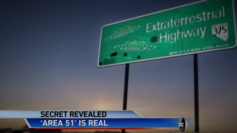 Area 51 Government Base Confirmed