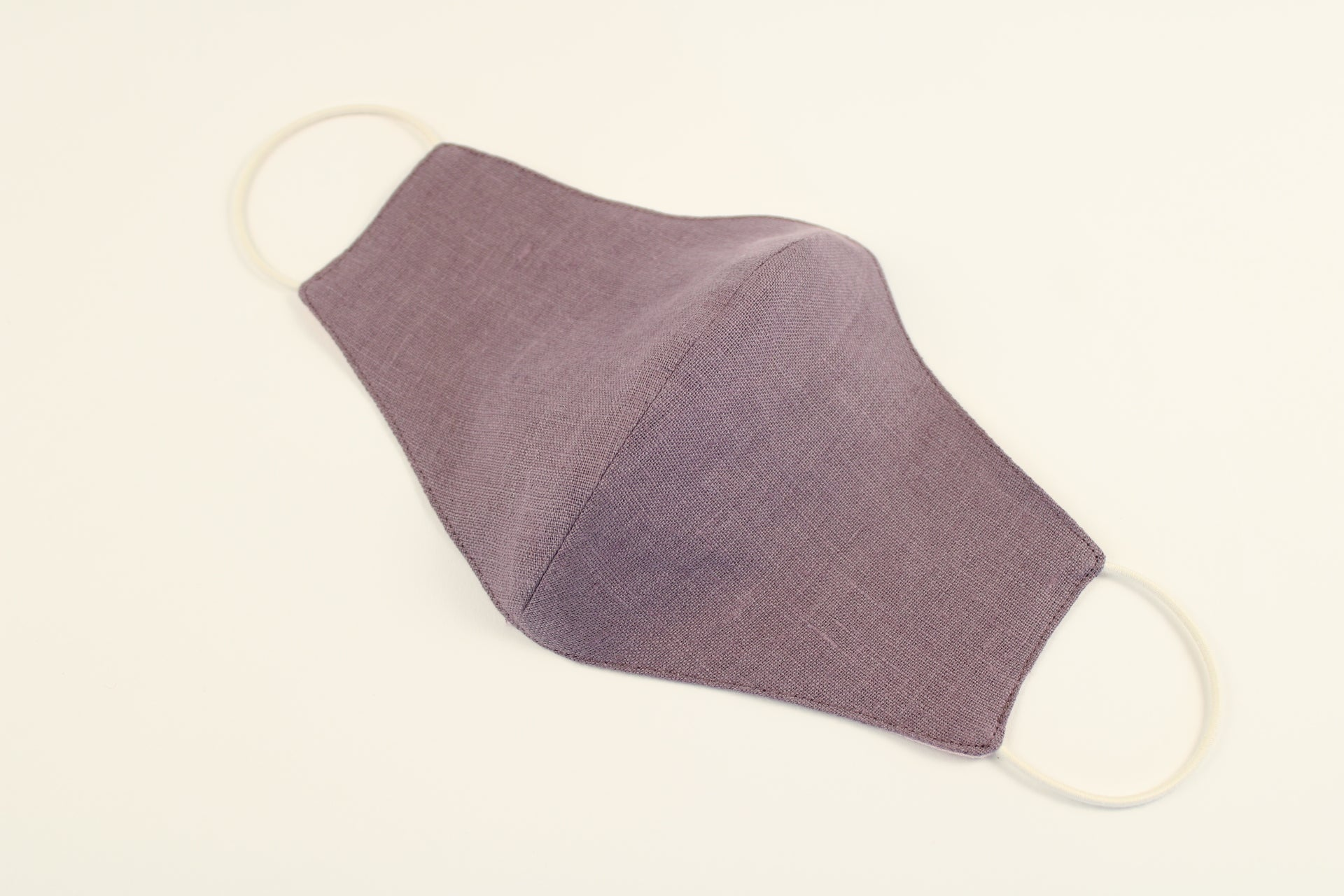 Pure Linen Mask Muted Lilac