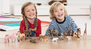 Schleich animal figures are fun and imaginative pretend play for children.