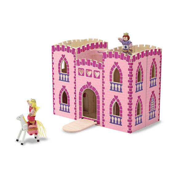 Fold & Go Princess Castle with Figures & Furniture