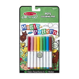 Magic-Pattern - Pets Coloring Pad - On the Go Travel Activity
